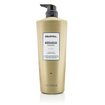 Goldwell Kerasilk Control Conditioner (For Unmanageable Unruly and Frizzy Hair) - 1000ml/33.8oz
