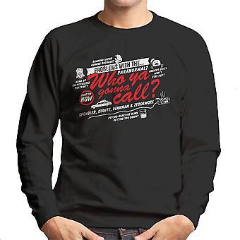 Bedre kalde drengene i grå Ghostbusters mænds Sweatshirt