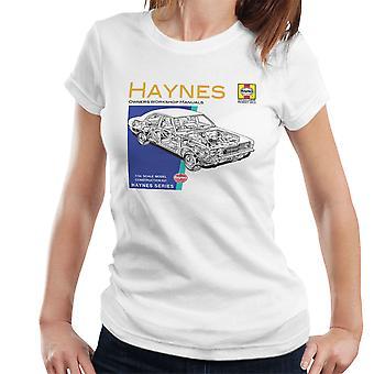 Haynes Owners Workshop Manual 0070 Ford Cortina Mk3 Women's T-Shirt