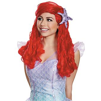 Ariel Disney Princess Little Mermaid Story Book Week  Women Costume Wig