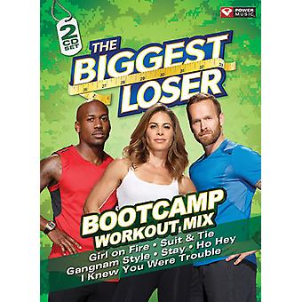 Forskellige kunstner - Biggest Loser: Bootcamp Workout Mix [CD] USA import