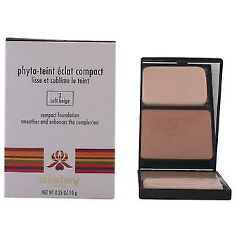 Sisley Phyto-Teint Eclat Compact # 02 Soft Beige-10 Gr (Beauty , Make-up , Face , Powder)