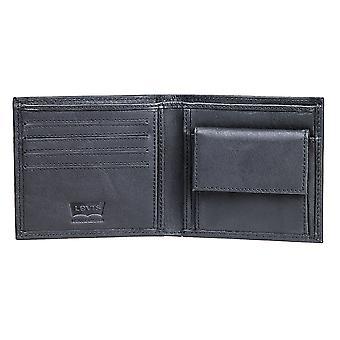 Levi's SF Cal Bi-Fold Wallet - Black