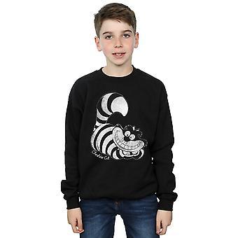 Disney Boys Alice In Wonderland Mono Cheshire Cat Sweatshirt