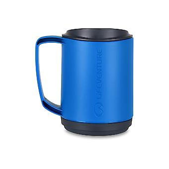 350ml Ellipse Insulated Mug - Blue/Graphite - Lifeventure