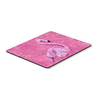 Carolines Treasures  8875MP Flamingo on Pink Mouse Pad, Hot Pad or Trivet