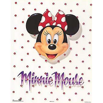 Impresión de cartel retrato de Minnie Mouse de Walt Disney (22 x 28)