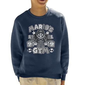 Super Marios Gym barneklubb Sweatshirt