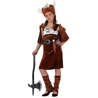 Børns kostumer Viking kostume til piger