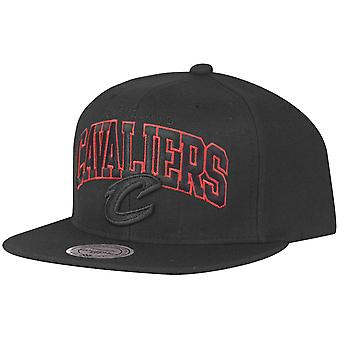 Cleveland Cavaliers røde Mitchell & Ness Snapback Cap-
