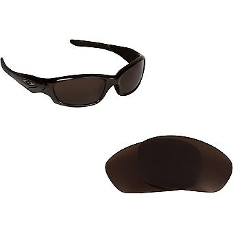 Best SEEK Replacement Lenses for Oakley STRAIGHT JACKET Brown