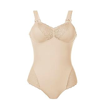Anita Comfort 3512-753 Women's Havanna Desert Nude Lace Non-Wired Firm Control Slimming Shaping Corselette