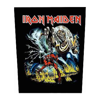 Iron Maiden Backpatch Number of the Beast Official New Black Sew On 36cm x 29cm
