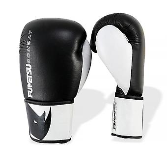 Fumetsu Pro Combat Sparring Gloves - Black White