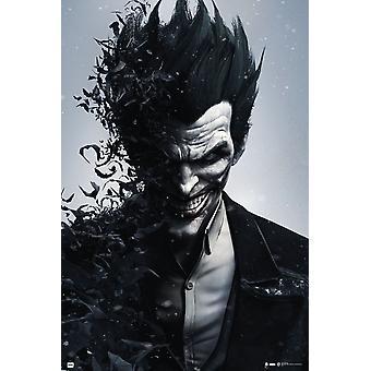 Batman Joker Arkham Origins cartel Poster Print
