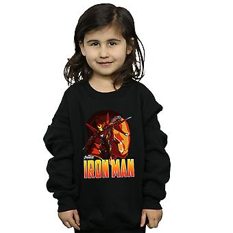 Marvel Girls Avengers Infinity War Iron Man Character Sweatshirt