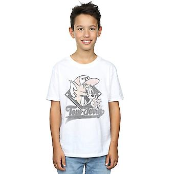 Tom and Jerry Boys Baseball Caps T-Shirt