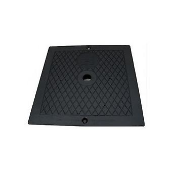 Hayward SPX1082EBLK Cover Square Deck Plate Black for Automatic Skimmers