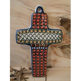 Croce, 21 x 12 cm, 1 - Unikat polacco ceramiche - BSN 5223