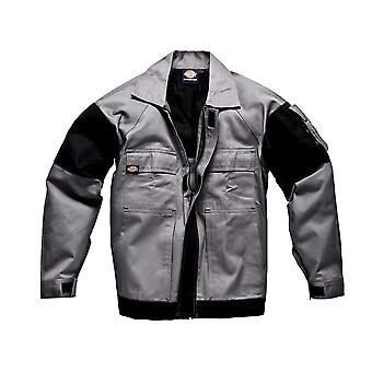 ディッキーズ メンズ作業服 GDT290 ジャケット グレー ブラック WD4910G