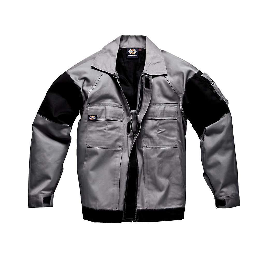 Mens de DICKIES Workwear GDT290 veste gris noir WD4910G