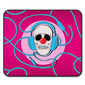 Clown Skull  Non-Slip Mouse Mat Pad 24cm x 20cm | Wellcoda