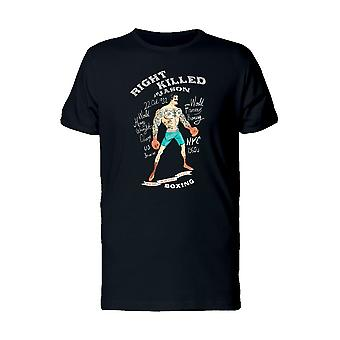 Right Killed Boxing Tee Men's -Image by Shutterstock