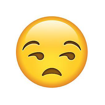 Unamused Emoji masker