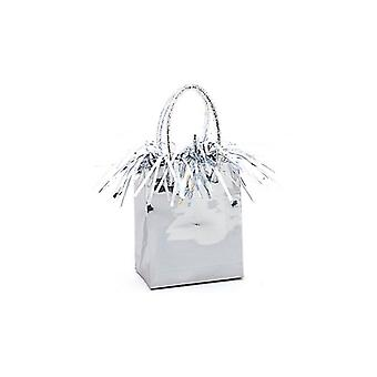 Balloon Weight Mini Handbag Silver