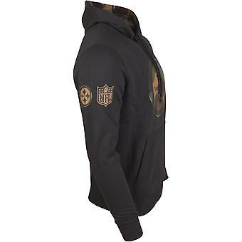 New era Fleece Hoody - NFL Pittsburgh Steelers Black camo