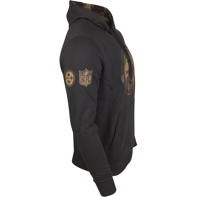 size 40 8a29a 5d0c1 New era Fleece Hoody - NFL Pittsburgh Steelers Black camo