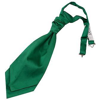 Emerald vihreä vain ennalta sidottu Satiini Cravat