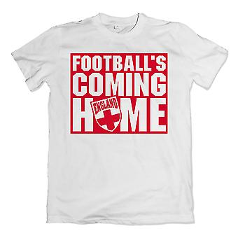 England Footballs Coming Home T-Shirt (White)