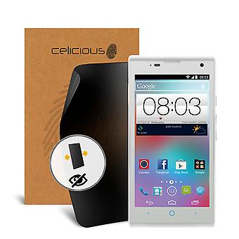 Celicious Privacy 2-Way Visual Black Out Screen Protector for ZTE Kis 3 Max
