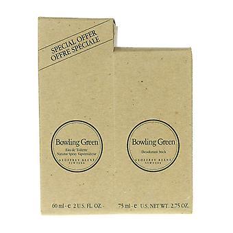 Geoffrey Beene Bowling Green 2 Pc. GiftSet EDT 2.0Oz/60ml & DeoStick 75ml/2.75Oz
