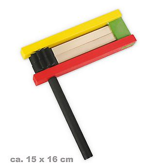 Wood ratchet 15x16cm mood makers according to