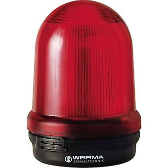 Light Werma Signaltechnik 828.100.55 Red Flash 24 Vdc