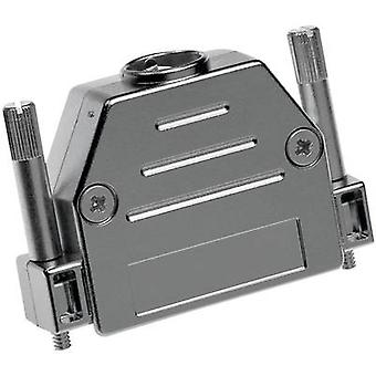 D-SUB housing Number of pins: 25 Plastic, metallised 180 ° Silver Provertha 17250M38T001 1 pc(s)