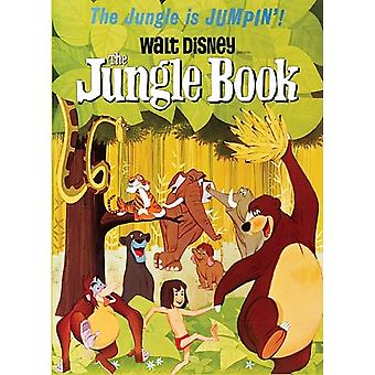 Disney'S Jungle Book Metal Fridge Magnet