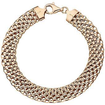 goud verguld armband 925 sterling zilver goud vergulde 21 cm karabijnhaak