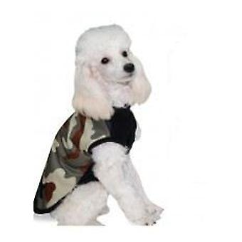 Yagu Layered Green Coat in Camouflage by Yagu (Dogs , Dog Clothes , Coats and capes)