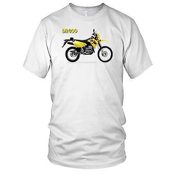 Suzuki DR400 moto Offroad Motorcyle Ladies T Shirt