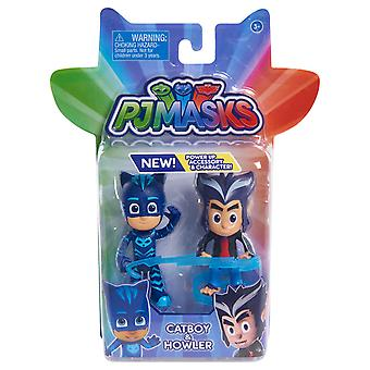 Pj Masks 2 Pack Hero & Villan - Catboy & Howler