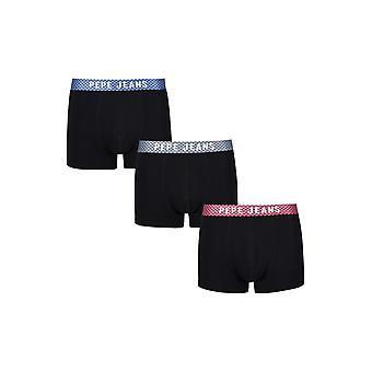 New Designer Mens Pepe Jeans Short Boxer Trunk Shortscolbert