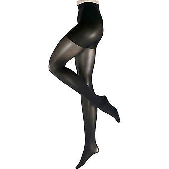 Falke Shape 50 Denier Semi-Opaque Shaping Panty Matte Tights - Black