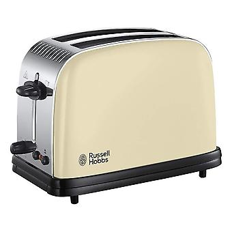 Russell Hobbs 23334 Colours Plus Cream 2 Slice Toaster