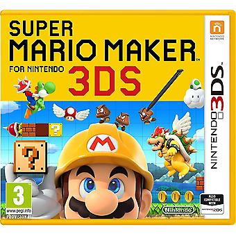 Nintendo 3ds Super Mario Maker Brand New Game For 2ds/3ds Console