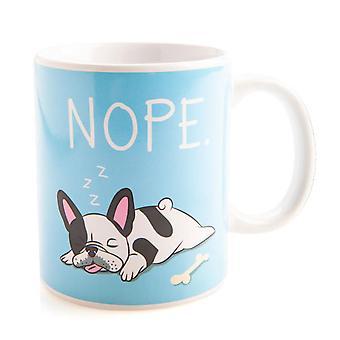 Francés Bulldog taza de café