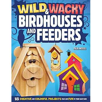 Wild & Wacky Birdhouses and Feeders  - 18 Creative and Colorful Projec