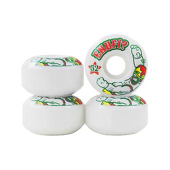 Enuff White Peacekeeper - Skateboard-Rollen 52mm